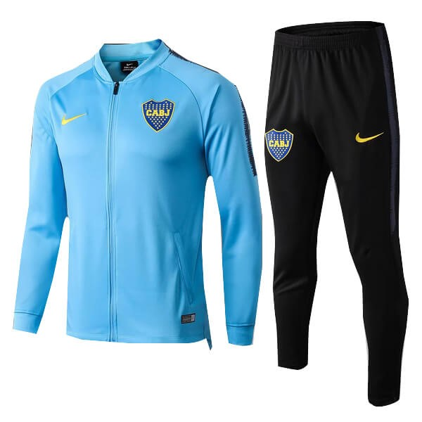 Trainingsanzug Boca Juniors 2018-19 Blau Licht