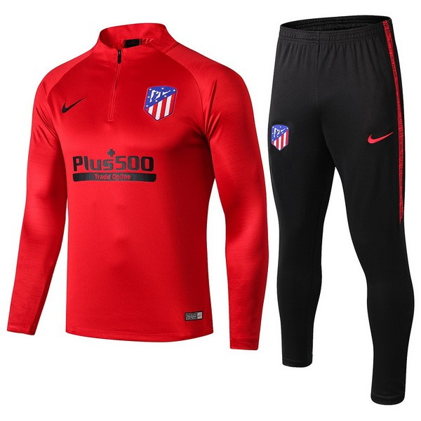 Trainingsanzug Atletico Madrid 2019-20 Rote Schwarz