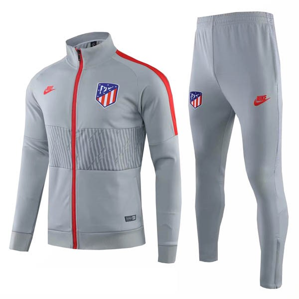 Trainingsanzug Atletico Madrid 2019-20 Grau