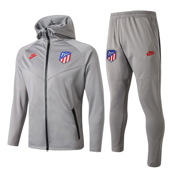 Trainingsanzug Atletico Madrid 2019-20 Rote Grau