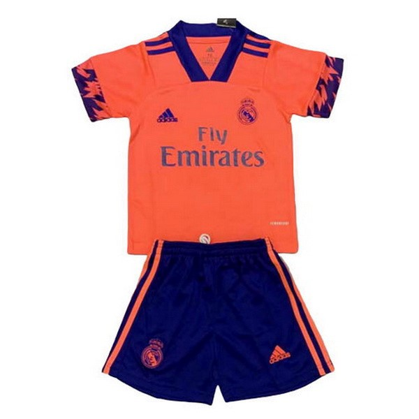 Trikot Real Madrid Kinder 2020-21 Orange
