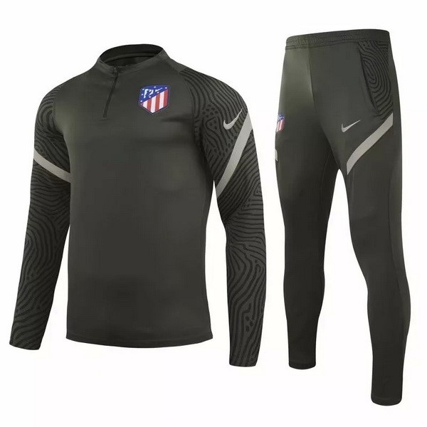 Trainingsanzug Atletico Madrid 2020-21 Grün