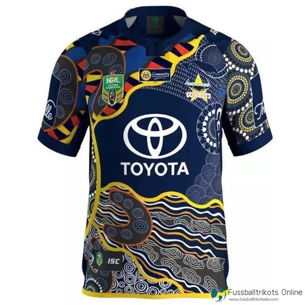North Queensland Cowboys Trikot Heim 2016-17 Rugby Shirts Günstig